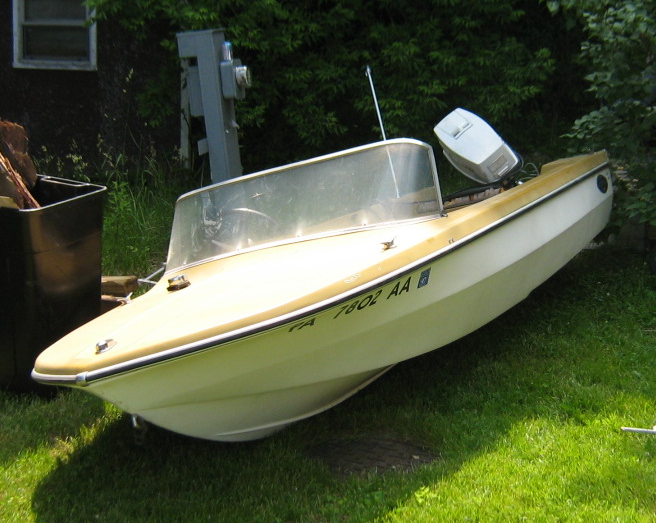 Restoring an old Glastron boat Page: 1 - iboats Boating